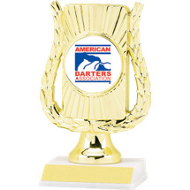 """6 1/2"""" Modern Frame ADA Trophy"""