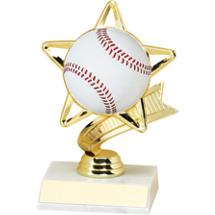 Baseball Trophy - Baseball Star Trophy