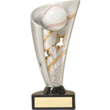 "Baseball Trophy - 7"" 3D Resin Baseball Award"
