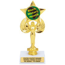 Black History Month Trophy | Shining Star Trophy