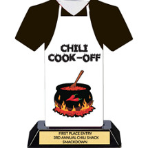 Chili Cook-Off Contest Trophy - 7 inches