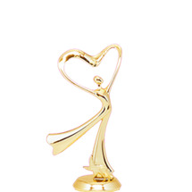 All Star Heart Dancer Gold Trophy Figure