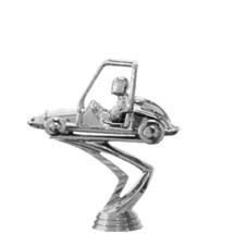 Quarter Midget Silver Trophy Figure