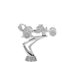 Dune Buggy Silver Trophy Figure