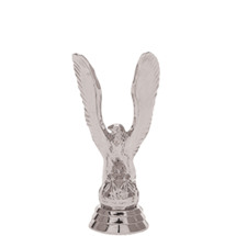 Eagle Silver Trophy Figure