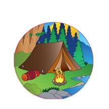 Camping Emblem