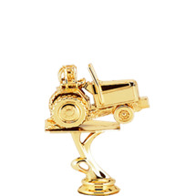 Power Tractor Gold Trophy Figure