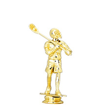 Lacrosse Male Gold Trophy Figure