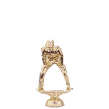 Umpire Gold Trophy Figure