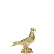 Pigeon Gold Trophy Figure