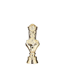Chess King Gold Trophy Figure
