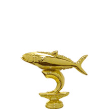 King Fish Gold Trophy Figure