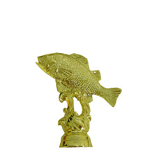 Walleye Fish Gold Trophy Figure