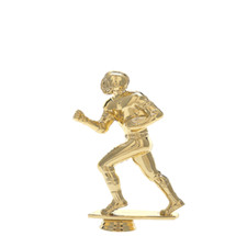 Football Runner Gold Trophy Figure