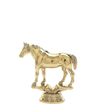 Quarter Horse without Saddle Trophy Figure
