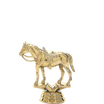 Quarter Horse - Saddle Trophy Figure
