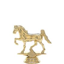 Gaited Horse Gold Trophy Figure