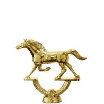 Trotter Horse Gold Trophy Figure