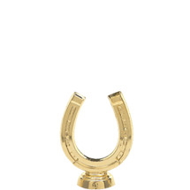 Horseshoe Gold Trophy Figure