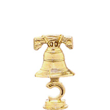 Liberty Bell Gold Trophy Figure