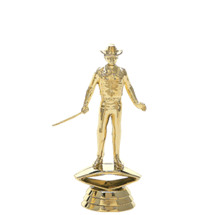 Showman Gold Trophy Figure