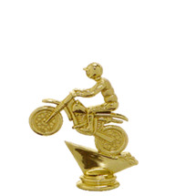 Dirt Bike Gold Trophy Figure