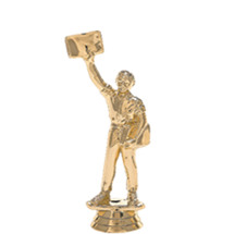 Newsboy Gold Trophy Figure