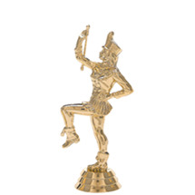 Drum Majorette Gold Trophy Figure