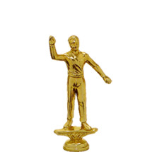 Patrol Boy Gold Trophy Figure