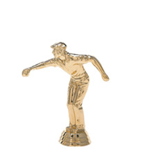 Pentaque Male Gold Trophy Figure