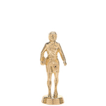 Saleswoman w/Briefcase Gold Trophy Figure
