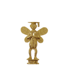 Knowledge Bee Gold Trophy Figure