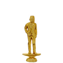 Shriner Gold Trophy Figure