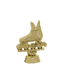 Inline Skate Gold Trophy Figure