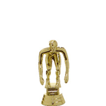 Swim Starter Male Gold Trophy Figure