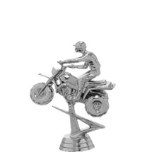 All Terrain 3 Wheel (Bike) Silver Trophy Figure