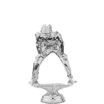 Umpire Silver Trophy Figure