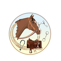 Western Horse Emblem