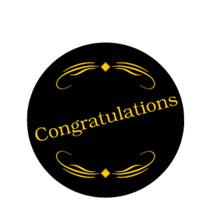 Congratulations Emblem