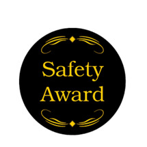 Safety Award Emblem
