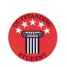 Outstanding Student Scholastic Emblem