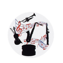 Musical Instruments Emblem