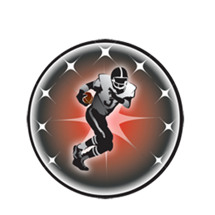 Football Player Emblem