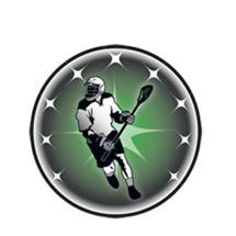 Male Lacrosse Emblem