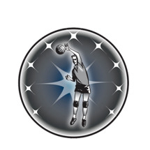Male Volleyball Emblem