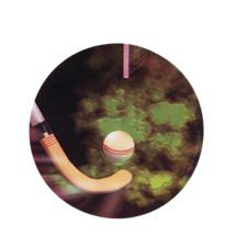 Field Hockey Holographic Emblem - HG 27
