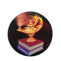 Lamp of Learning Holographic Emblem - HG 31