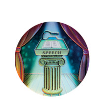 Speech Holographic Emblem - HG 51