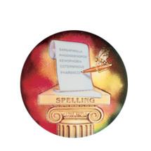 Spelling Holographic Emblem - HG 52