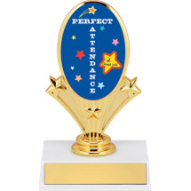 School Trophy - Perfect Attendance Trophy